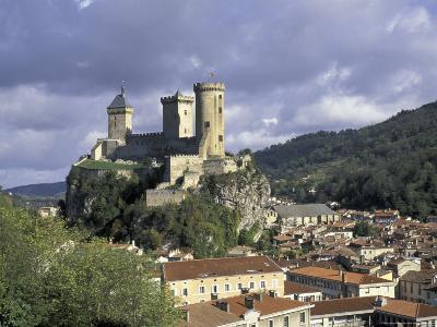 Chateau Comtal, Pyrenees, France-David Barnes-Photographic Print