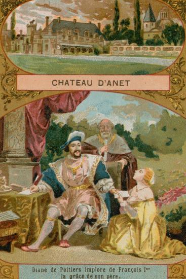 Chateau D'Anet--Giclee Print