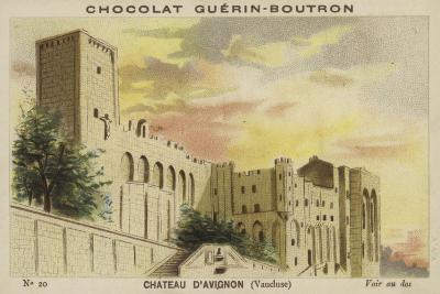 Chateau D'Avignon, Vaucluse--Giclee Print