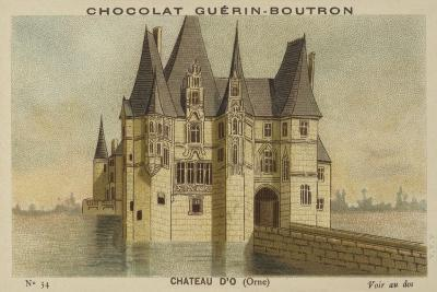 Chateau D'O, Orne--Giclee Print
