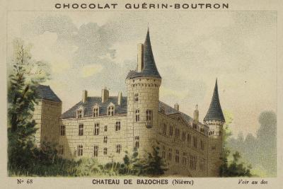 Chateau De Bazoches, Nievre--Giclee Print