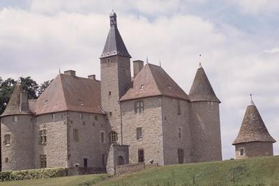 Chateau De Beauvoir-Sur-Saint-Pourcain Besbre, Auvergne, France--Giclee Print