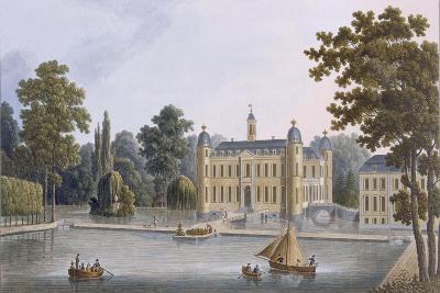 Château De Beloeil, from 'Choix Des Monuments, Edifices Et Maisons Les Plus Remarquables Du…-Pierre Jacques Goetghebuer-Giclee Print