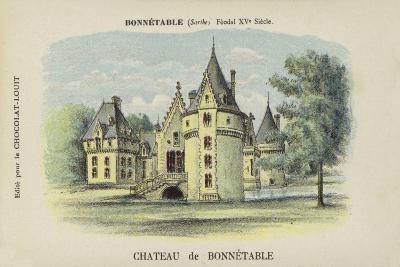 Chateau De Bonnetable, Bonnetable, Sarthe--Giclee Print