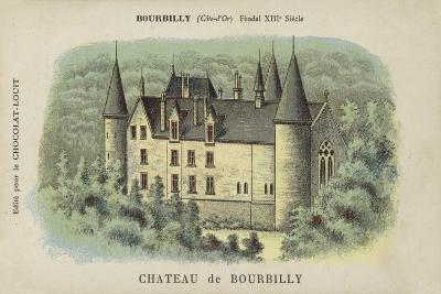 Chateau De Bourbilly, Bourbilly, Cote-D'Or--Giclee Print