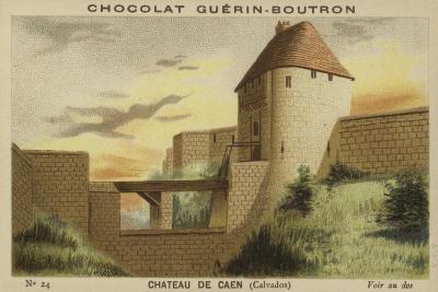 Chateau De Caen, Calvados--Giclee Print