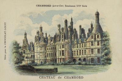 Chateau De Chambord, Chambord, Loir-Et-Cher--Giclee Print