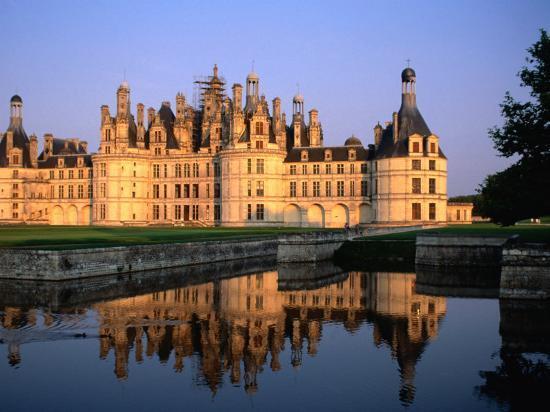 Chateau De Chambord, France-John Elk III-Photographic Print