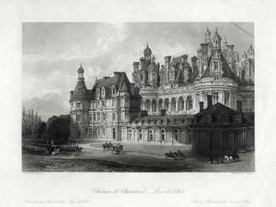 Chateau De Chambord, Loir-Et-Cher, France, 1875-James Tingle-Giclee Print
