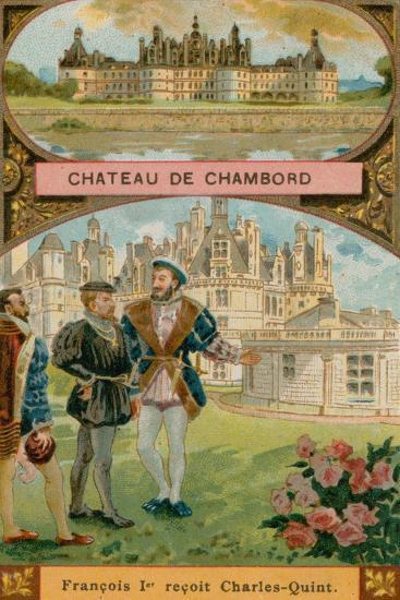 Chateau De Chambord--Giclee Print