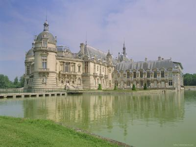 Chateau De Chantilly, Chantilly, Oise, France, Europe-Gavin Hellier-Photographic Print