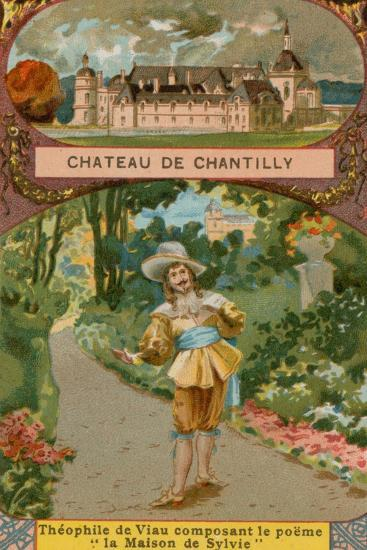 Chateau De Chantilly--Giclee Print
