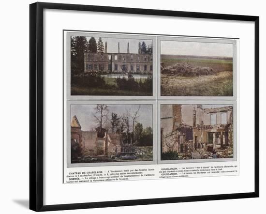 Chateau De Chapelaine, Gourgancon, Normee, Gourgancon-Jules Gervais-Courtellemont-Framed Photographic Print