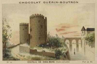 Chateau De Cinq-Mars, Indre-Et-Loire--Giclee Print