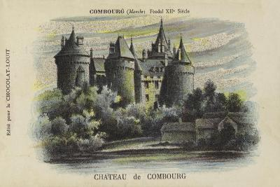 Chateau De Combourg, Combourg, Manche-French School-Giclee Print