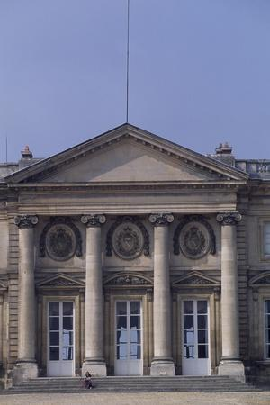 Chateau De Compiegne Rear Facade, Picardy, Detail, France--Giclee Print