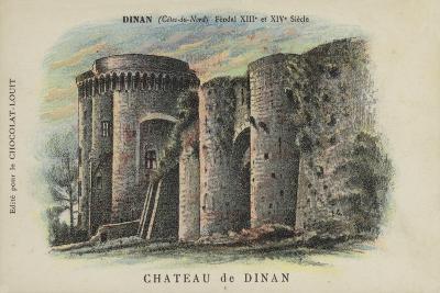 Chateau De Dinan, Dinan, Cotes-Du-Nord--Giclee Print