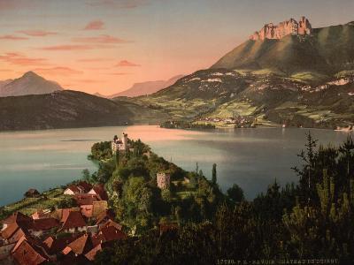 Chateau De Duingt, Annecy in France, C.1890-C.1900--Giclee Print