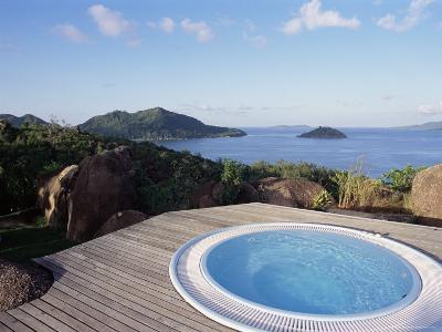 Chateau De Feuilles, Anse De Marie Louise, South Coast, Island of Praslin, Seychelles-Bruno Barbier-Photographic Print