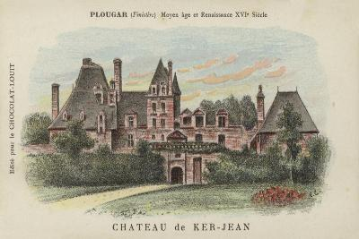 Chateau De Ker-Jean, Plougar, Finistere--Giclee Print
