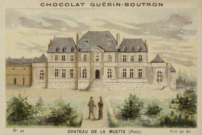 Chateau De La Muette, Passy--Giclee Print
