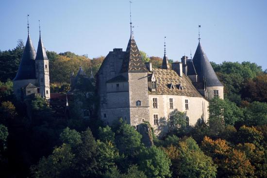 Chateau De La Rochepot, Burgundy, France, 13th-19th Century--Giclee Print