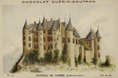 Chateau De Luynes, Indre-Et-Loire--Giclee Print