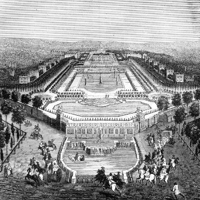 Chateau De Marly, France, 1722 (1882-188)--Giclee Print