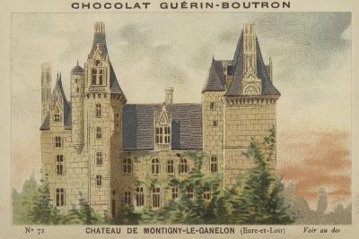 Chateau De Montigny-Le-Ganelon, Eure-Et-Loir--Giclee Print
