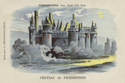 Chateau De Pierrefonds, Pierrefonds, Oise--Giclee Print