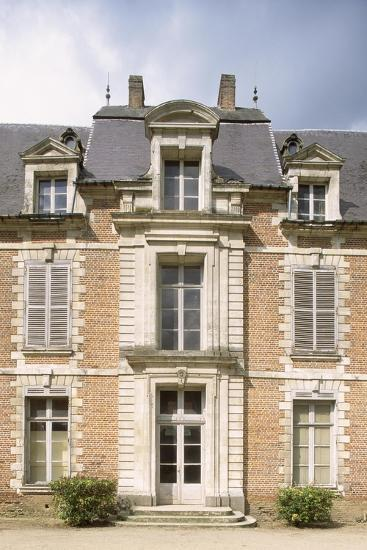 Chateau De Quevauvillers Facade, Picardy, Detail, France, 17th-18th Century--Giclee Print