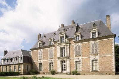 Chateau De Quevauvillers Facade, Picardy. France, 17th-18th Century--Giclee Print