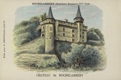 Chateau De Rochelambert, Rochelambert, Haute-Loire--Giclee Print