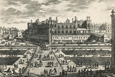 Chateau De Saint-Germain-En-Laye, by Perelle, France, 17th Century--Giclee Print