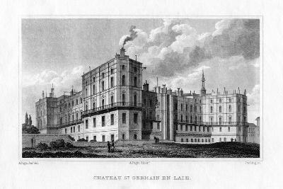 Chateau De Saint Germain En Laye, Paris, C1830-MJ Starling-Giclee Print