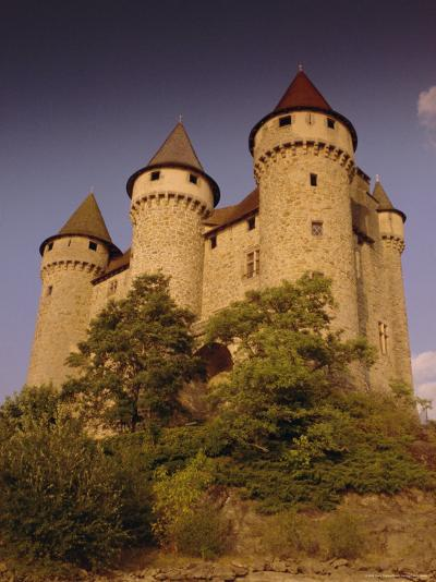 Chateau De Val, Bort-Les-Orgues, France, Europe-David Hughes-Photographic Print