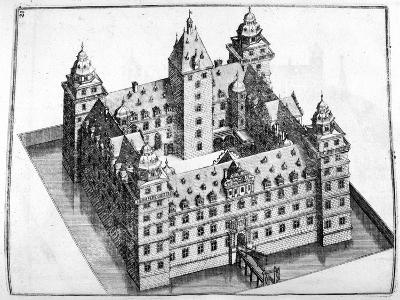 Chateau Design, 1664-Georg Andreas Bockler-Giclee Print