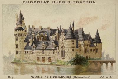 Chateau Du Plessis-Bourre, Maine-Et-Loire--Giclee Print