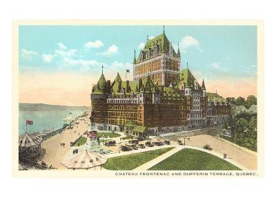 Chateau Frontenac, Dufferin Terrace, Quebec--Art Print