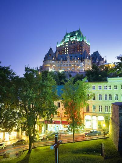 Chateau Frontenac, Quebec City, Quebec, Canada-Roy Rainford-Photographic Print