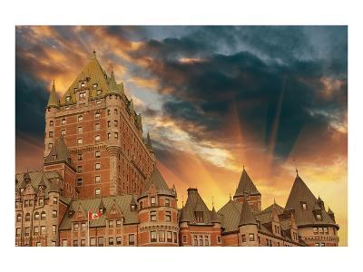 Chateau Frontenac Quebec City--Art Print