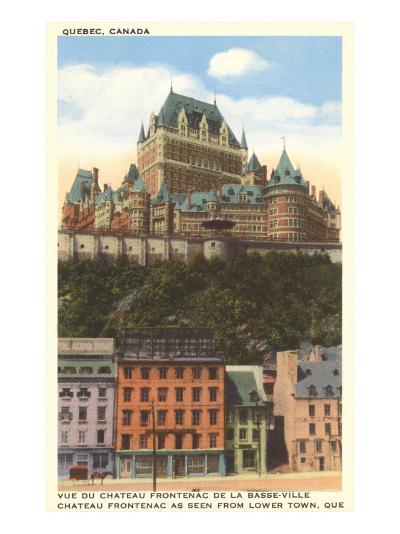 Chateau Frontenac, Quebec--Art Print