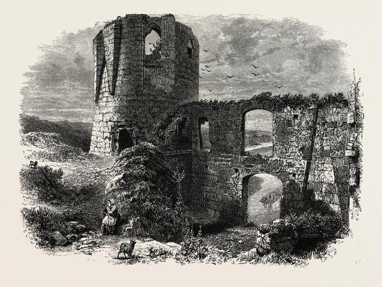 Chateau Gaillard, Normandy and Brittany, France, 19th Century--Giclee Print
