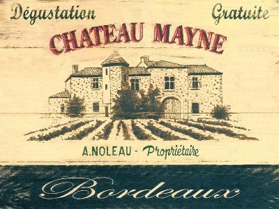 Chateau Mayne-Martin Wiscombe-Art Print