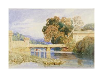 Chateau Navarre, Near Evreux, Normandy-John Sell Cotman-Giclee Print