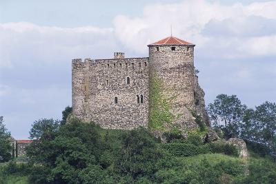 Chateau of Busseol, Founded in 12th Century, Auvergne, France--Photographic Print