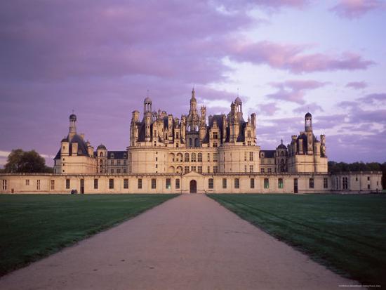 Chateau of Chambord, Loir Et Cher, Region De La Loire, Loire Valley, France-Bruno Morandi-Photographic Print