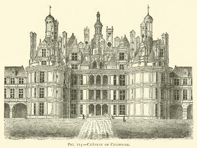 Chateau of Chambord--Giclee Print
