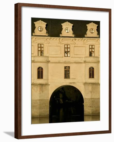 Chateau of Chenonceau, Loire Valley, France-David Barnes-Framed Photographic Print