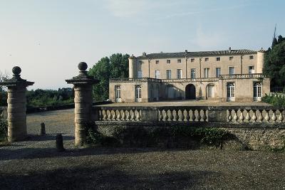Chateau of Lavagnac, Montagnac, 17th-18th Century, Languedoc-Roussillon, France--Photographic Print
